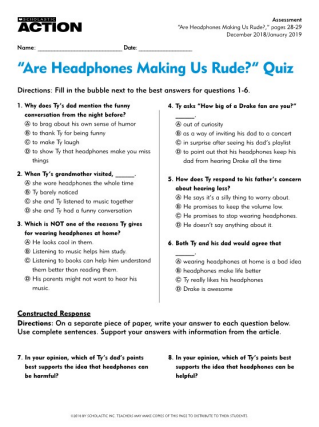 Rude Quiz Questions And Answers | Midway Media